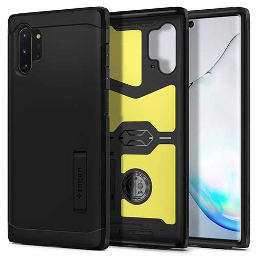 2. Spigen Tough Armor Designed for Samsung Galaxy Note 10 Plus Case/Galaxy Note 10 Plus 5G Case (2019)