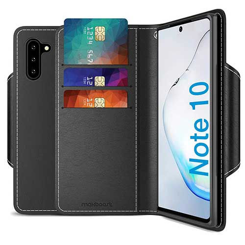 10. Maxboost mWallet Designed for Galaxy Note 10 Case