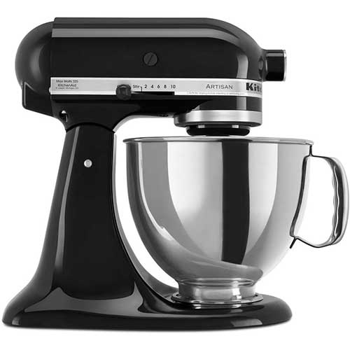 1. Kitchen Aid Stand Mixer with Pouring Shield