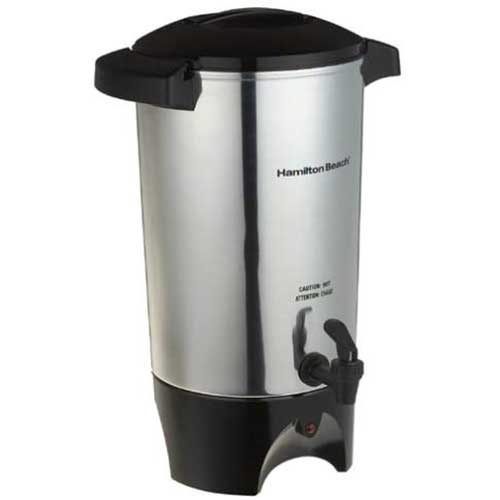 2. Hamilton Beach 45 Cup Coffee Urn and Hot Beverage Dispenser