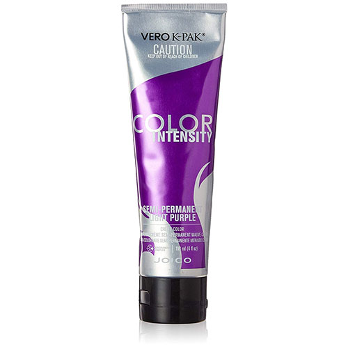 3. Joico Intensity Semi-Permanent Hair Color, Light Purple, 4 Ounce