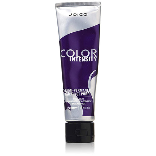 1. Joico Intensity Semi-Permanent Hair Color, Amethyst Purple, 4 Ounce