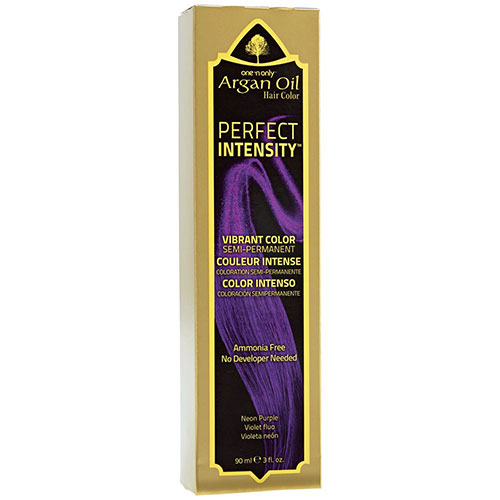 4. One 'n Only Perfect Intensity Neon Purple Semi Permanent Hair Color Neon Purple