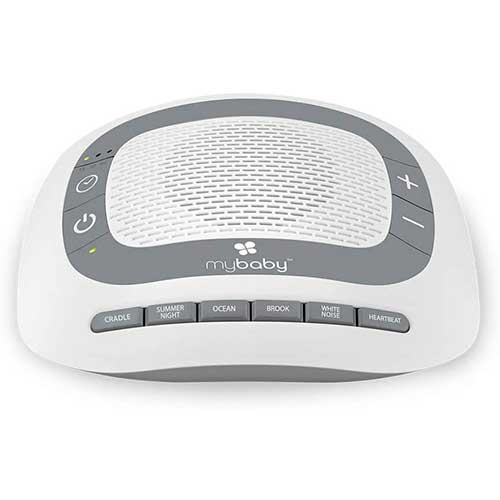 8. White Noise Machine for Babies   6 Soothing Lullabies for Newborns, Sound Therapy