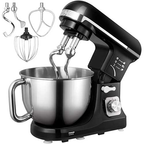 Top 10 Best Stand Mixers for Bread Dough in 2019 Reviews