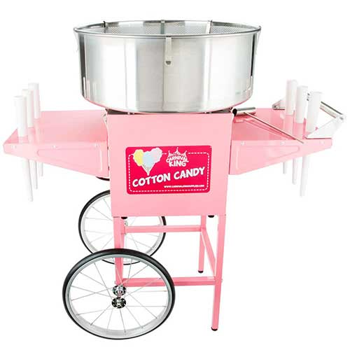 5. Carnival King CCM21CT Cotton Candy Machine with 21
