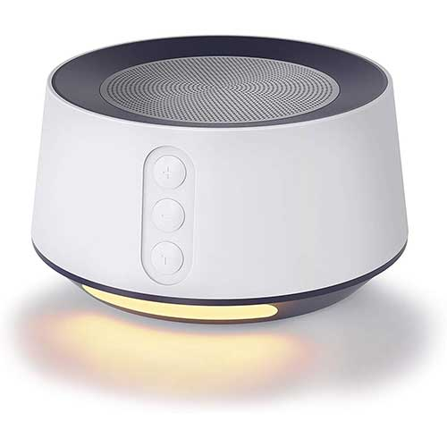 6. Letsfit White Noise Machine with Baby Night Light for Sleeping