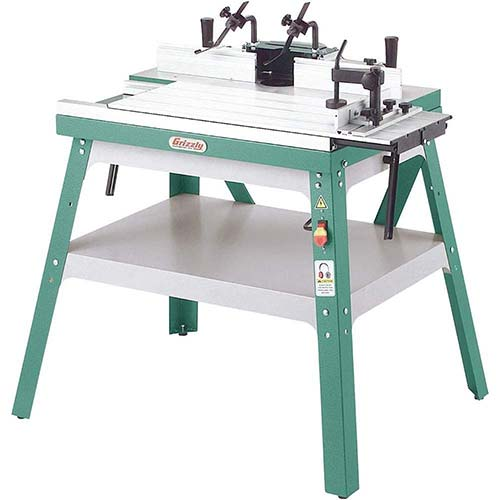 9. Grizzly Industrial G0528 - Router Table