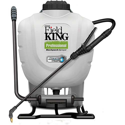 4. Field King Professional 190328 No Leak Pump Backpack Sprayer for Killing Weeds in Lawns and Gardens