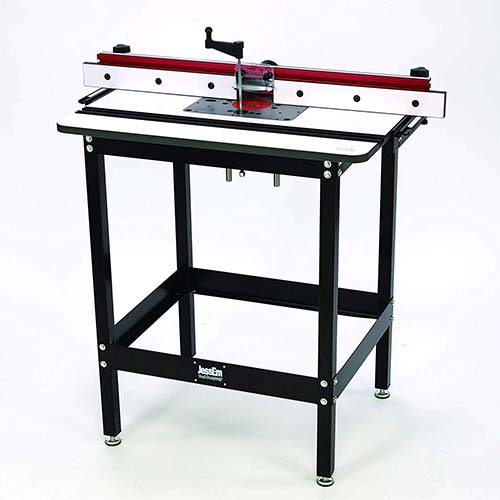 4. JESSEM Rout-R-Lift II Included Router Table System with Phenolic Top