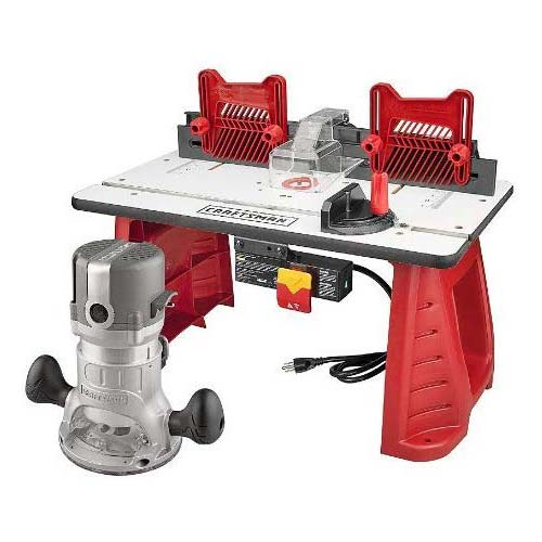 10. Craftsman Router and Router Table Combo