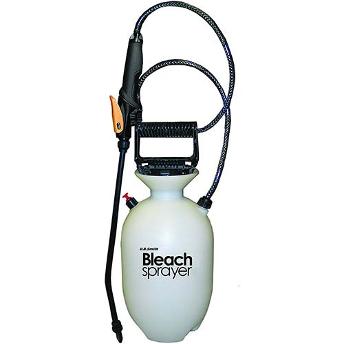 7. Smith 190360 1 Gallon Bleach Sprayer for Cleaning & Mold Removal