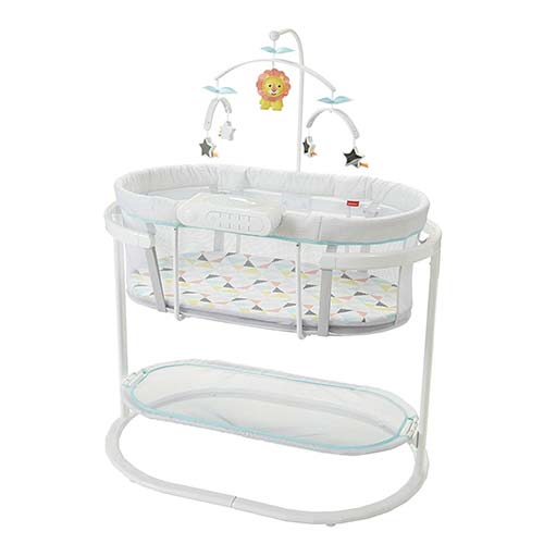 2. Fisher-Price Soothing Motions Bassinet