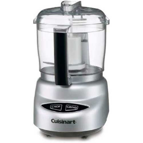 8. Cuisinart DLC-2ABC Mini Prep Plus Food Processor Brushed Chrome and Nickel