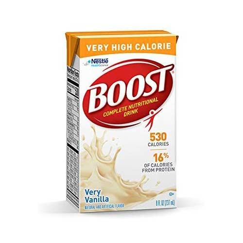 2. Boost VHC Very High Calorie Complete Nutritional Drink