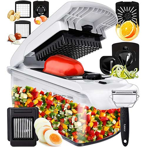 9. Fullstar Vegetable Chopper Onion Chopper Dicer - Peeler Food Chopper Salad Chopper