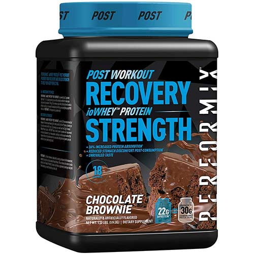 6. Performix ioWHEY Isolate Protein Powder (18 Servings, Chocolate Brownie)