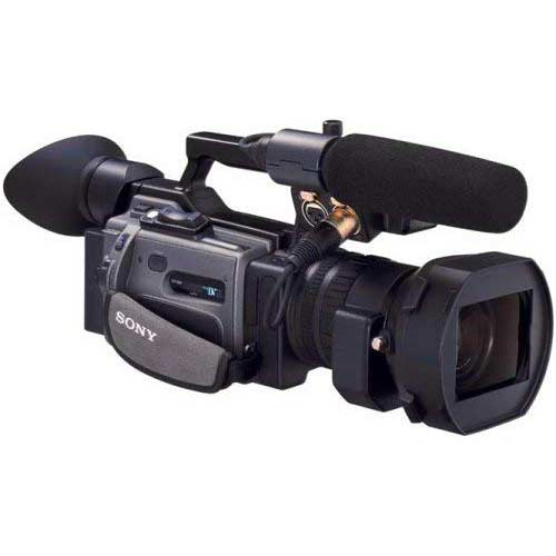 8. Sony Professional DSR-PD170 3 CCD MiniDV Camcorder