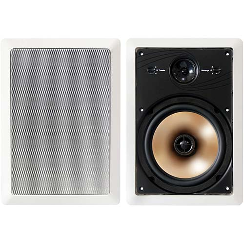 10. BIC America HT8W 8-Inch 3-Way Acoustech Series In-Wall Speakers
