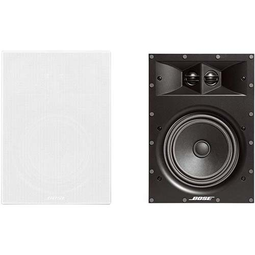1. Bose Virtually Invisible 891 In-Wall Speaker