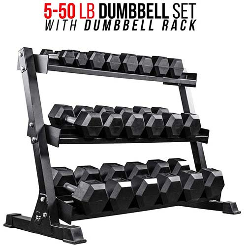 Top 10 Best Dumbbell Sets With Rack in 2021 Reviews
