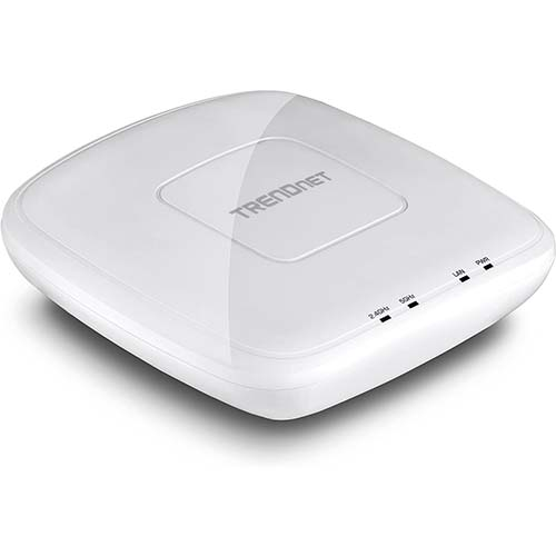 4. TRENDnet AC1750 Dual Band PoE Access Point