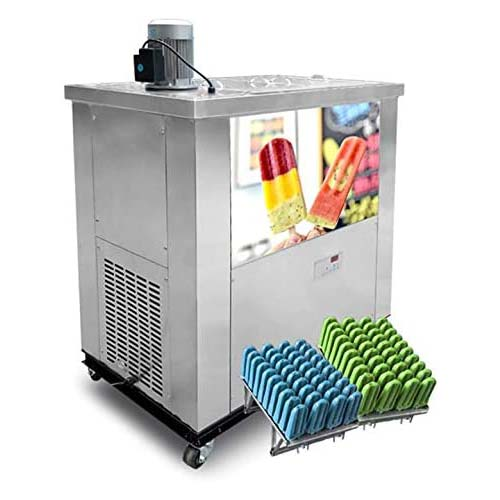 10. Commercial 4 Mold Sets ice Popsicle Machine