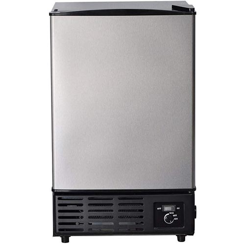 4. Smad Portable Commercial Ice Maker under Counter Built-in Ice Maker Machine