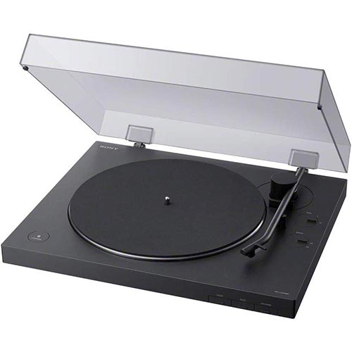 1. Sony PS-LX310BT Belt Drive Turntable: Fully Automatic Wireless Vinyl Record Player