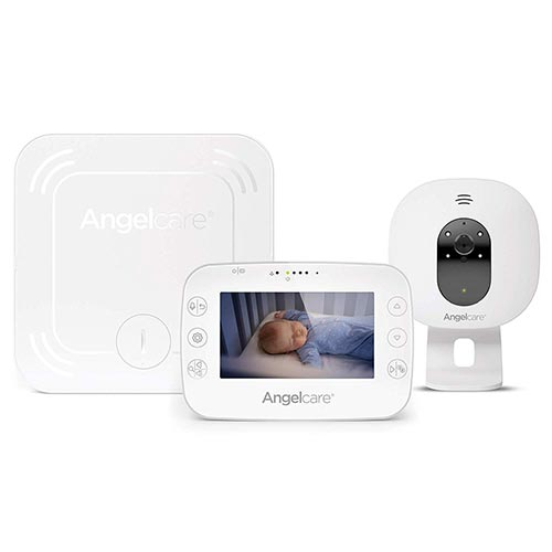 4. Angelcare 3-in-1 AC327 Baby Monitor, with Breathing Movements Tracking