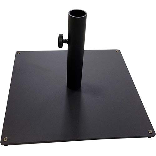 4. Tropishade Steel Plate Umbrella Base