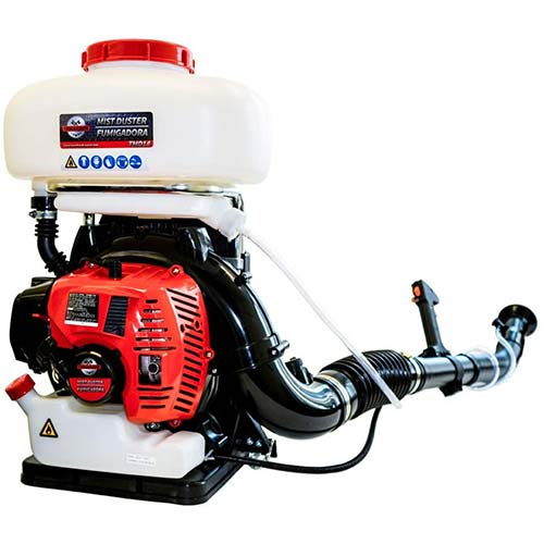 2. TOMAHAWK 3 HP Turbo Boosted Backpack Fogger Duster Blower