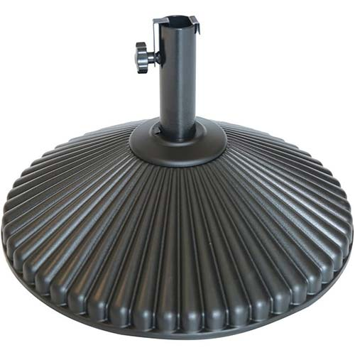 6. Abba Patio 50 lbs Round Patio Umbrella Base