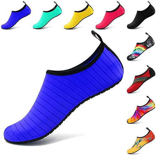 1. VIFUUR Water Sports Shoes Barefoot Quick-Dry Aqua Yoga Socks Slip-on