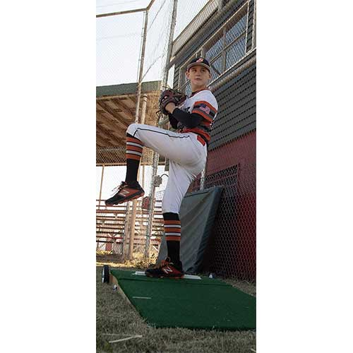 6. Players Choice Mounds Portable Pitching Mound for Youth Baseball
