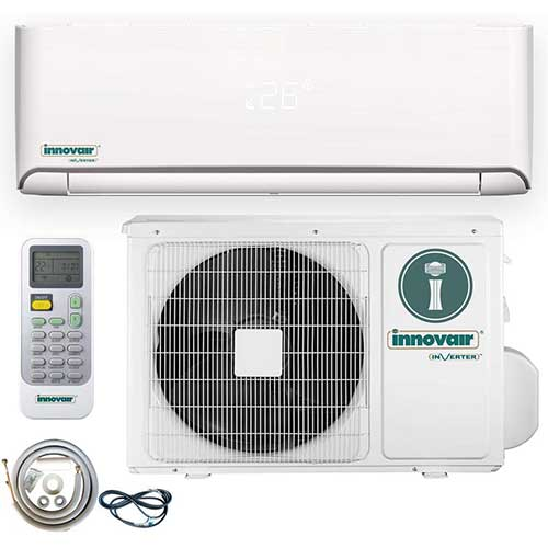 3. Innovair Air Conditioner Inverter Ductless Wall Mount Mini Split System
