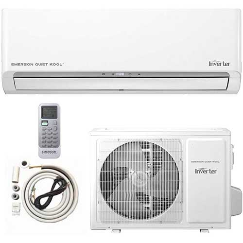 6. Emerson mini split Air Conditioner Ductless System