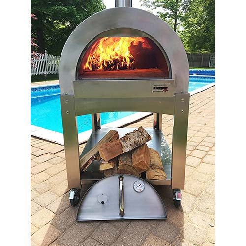 2. ilFornino Professional Series Wood Fired Pizza Oven