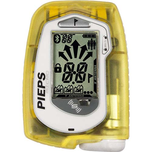 2. PIEPS Micro Avalanche Beacon One Color One Size