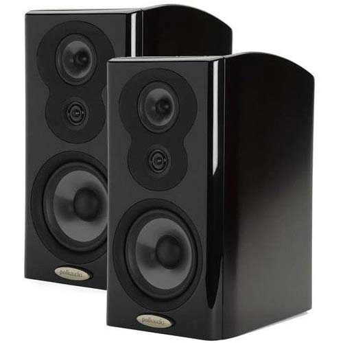 7. Polk Audio LSi9 Dual-Driver Bookshelf Speakers