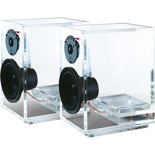 2. ONEaudio Surround Expandable Bookshelf Home Speaker Set
