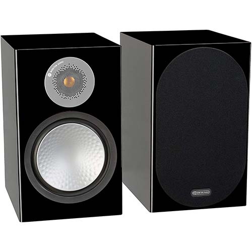 10. Monitor Audio Silver 100 Bookshelf Speakers