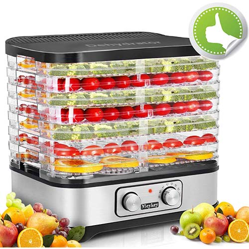 10. Hauture Food Dehydrator Machine, Electric Food Dryer