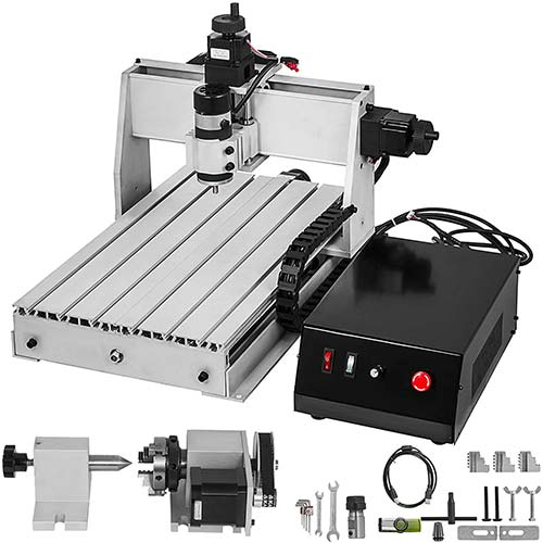 2. VEVOR CNC Router 6040 4 Axis CNC Router Machine 600x400mm CNC Router Kit