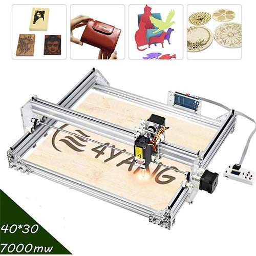 6. 7000mW Large Working Area CNC Engraving Kits