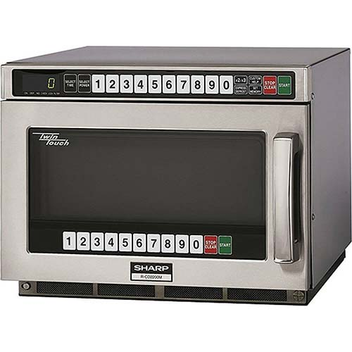 3. Sharp R-CD2200M - Commercial Microwave Oven