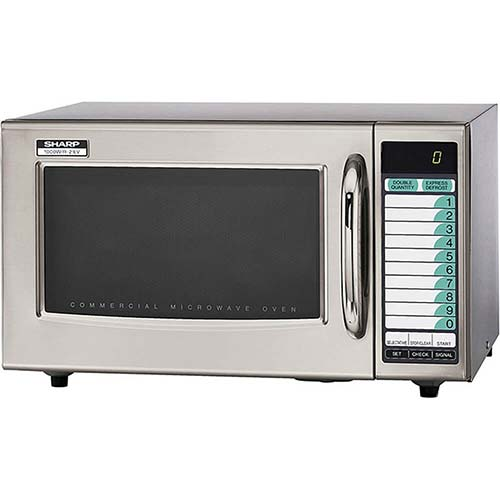 10. Sharp Medium-Duty Commercial Microwave Oven (15-0429)