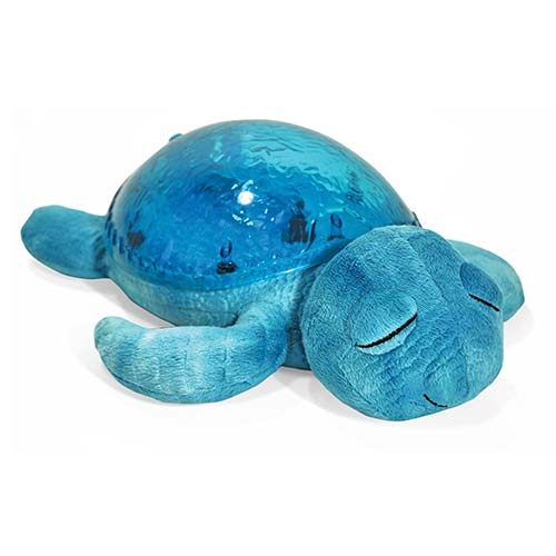 5. Cloud b Tranquil Turtle Aqua Night Light and Sound Soother