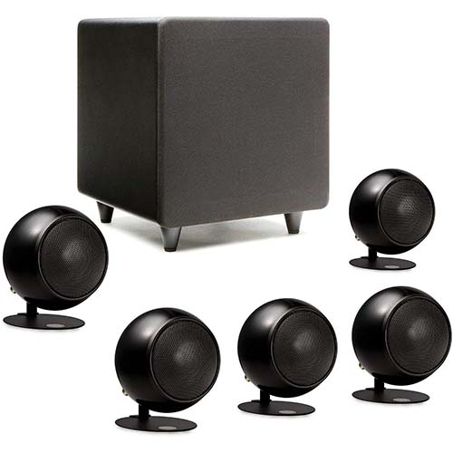 10. Orb Audio: Mod1 Mini 5.1 Home Theater Speaker System
