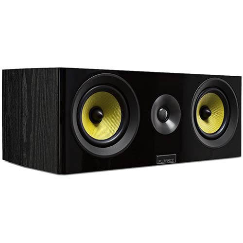 4. Fluance Signature Series HiFi Two-Way Center Channel Speaker